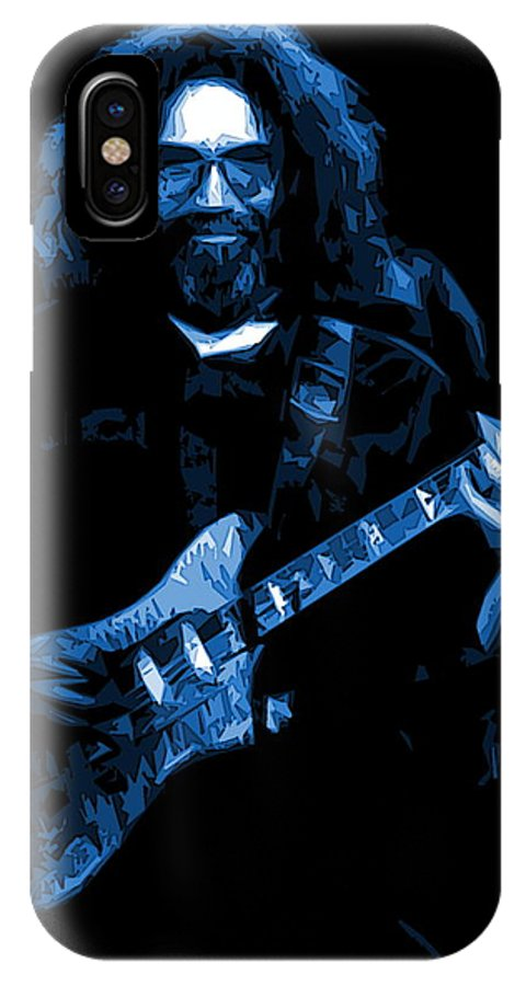 Jerry Garcia IPhone X Case featuring the photograph Blue Eyes Of The World by Ben Upham