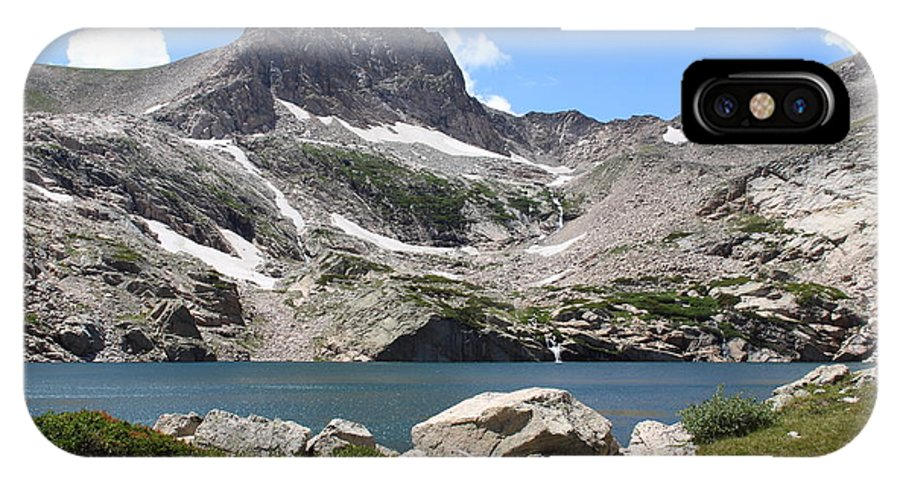 Colorado IPhone X Case featuring the photograph Blue Lake by Eric Glaser