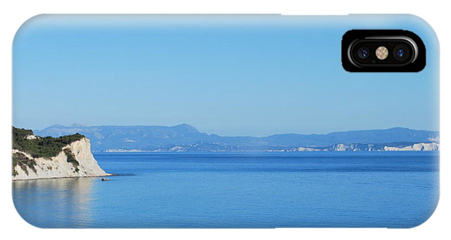 Blue Waters IPhone X Case featuring the photograph Blue Waters 5 by George Katechis