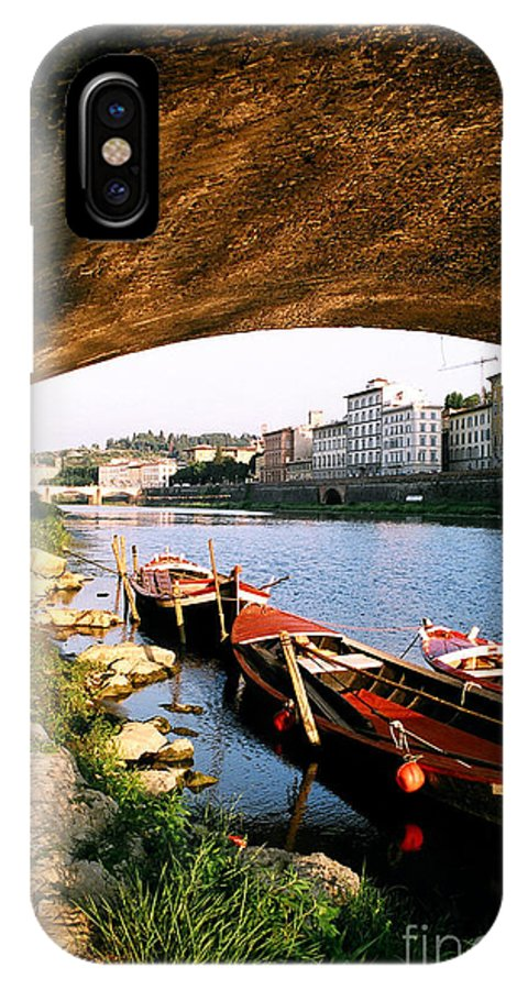 Canal Photographs IPhone X Case featuring the photograph Boats At Rest by Sandy MacNeil