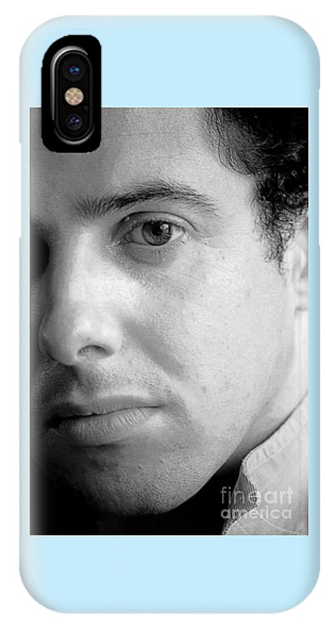 Photography IPhone X Case featuring the photograph Bobby Portrait by Richard Morris