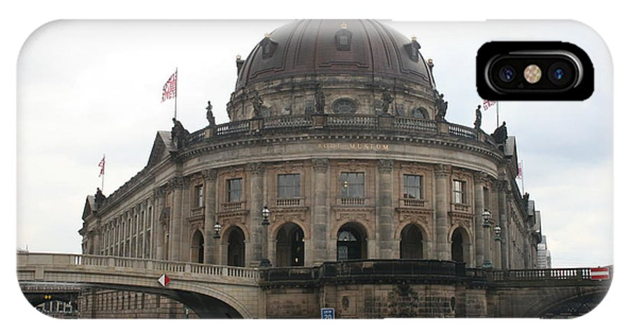 Museum IPhone X Case featuring the photograph Bode Museum - Berlin - Germany by Christiane Schulze Art And Photography