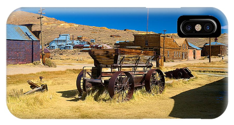 Bodie State Historical Park IPhone X Case featuring the photograph Bodie 10 by Richard J Cassato