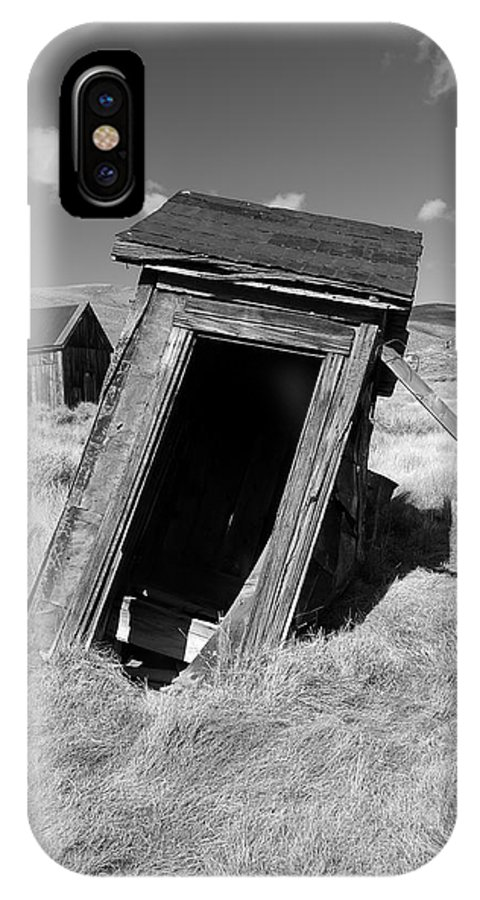 Bodie State Historical Park IPhone X Case featuring the photograph Bodie 14 by Richard J Cassato