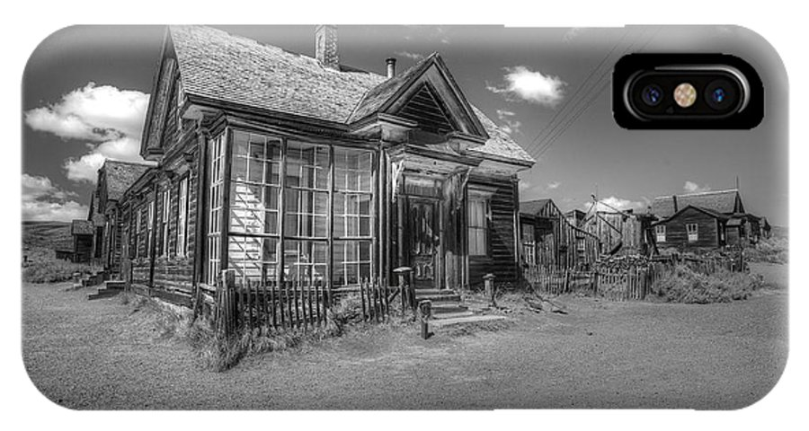 Bodie State Historical Park IPhone X Case featuring the photograph Bodie 7 by Richard J Cassato