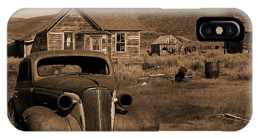 Car IPhone X Case featuring the photograph Bodie  #72986 by J L Woody Wooden