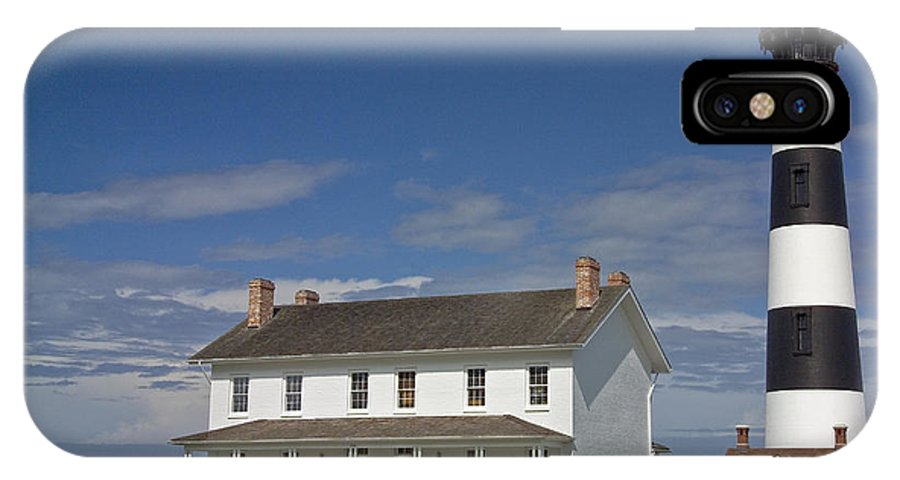 North Carolina IPhone X Case featuring the photograph Bodie Lighthouse Obx by Greg Reed