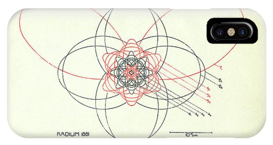 Bohrs Radium Atom Iphone X Xs Case For Sale By Aip Emilio Segre