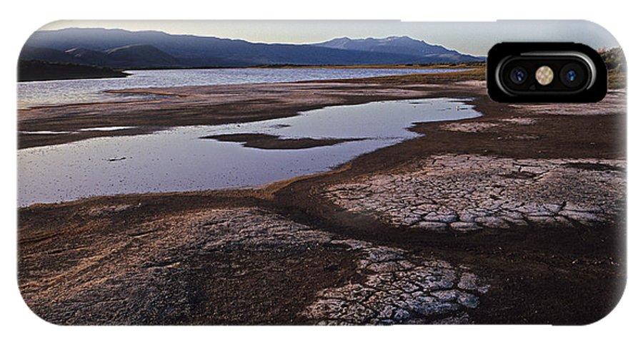IPhone X Case featuring the photograph Borax Lake by Don Baccus