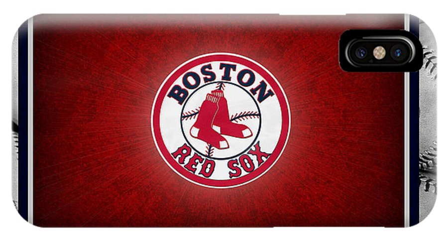 best service aacc4 2ccaf Boston Red Sox IPhone X Case