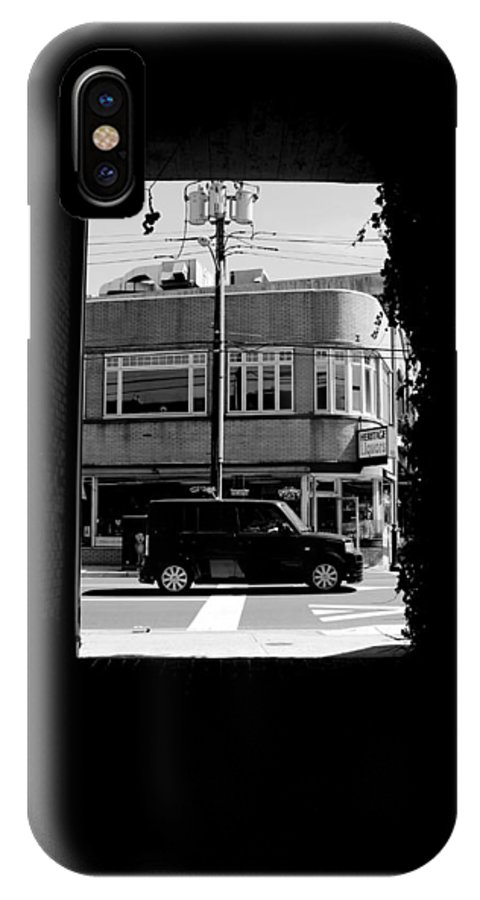 IPhone X Case featuring the photograph Boxed. by Joseph Schaefer