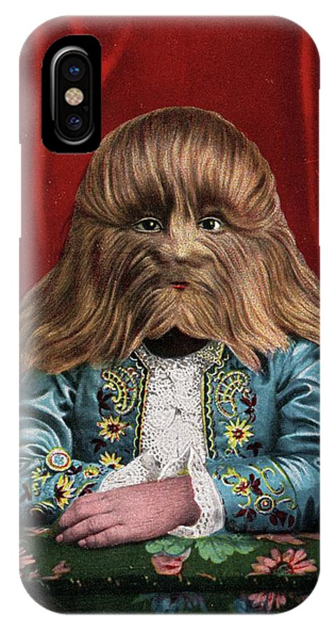 Lionel IPhone X Case featuring the photograph Boy With Hypertrichosis by American Philosophical Society