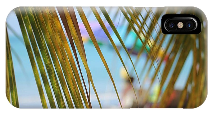 Beach IPhone X Case featuring the photograph Summer Breeze by The Art of Alice Terrill