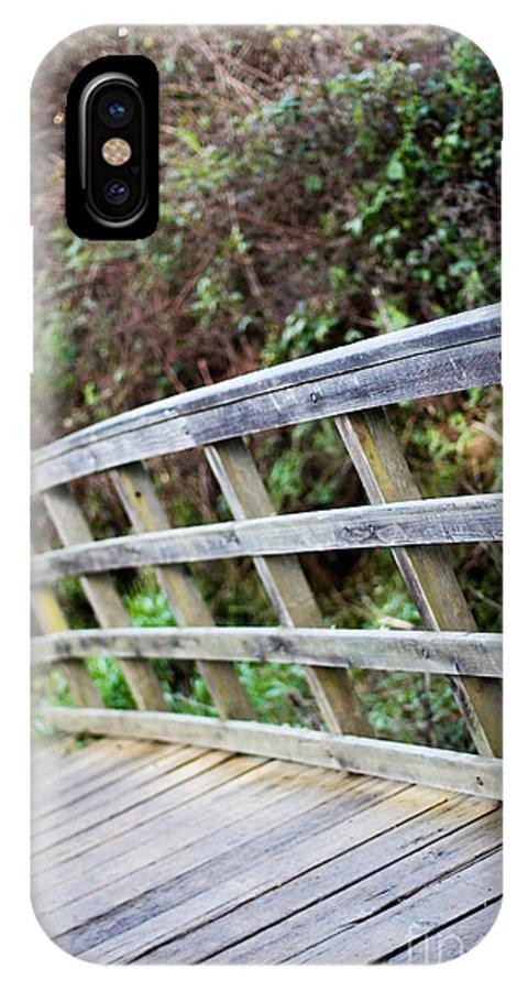 Bridge IPhone X Case featuring the photograph Bridge by Tim Tolok