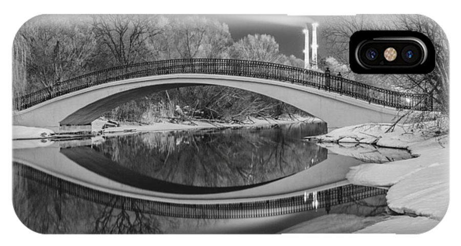 Landscape IPhone X Case featuring the photograph Bridge To Nowhere by Joshua Bozarth