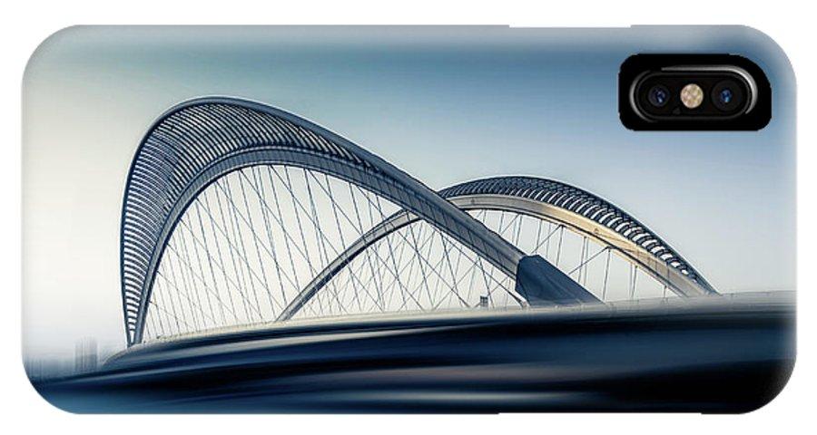 Bridge IPhone X Case featuring the photograph Bridge#1 by Baidongyun