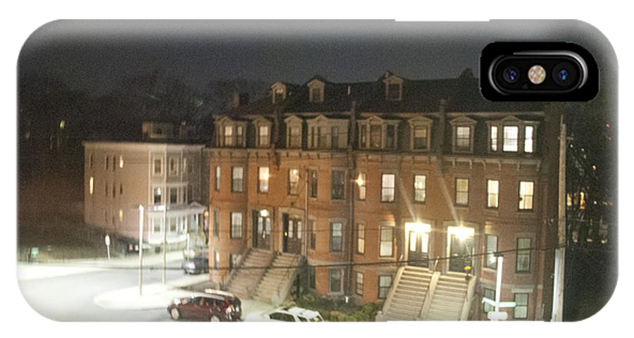 Brownstone IPhone X Case featuring the photograph Brownstone by Taylor Webb