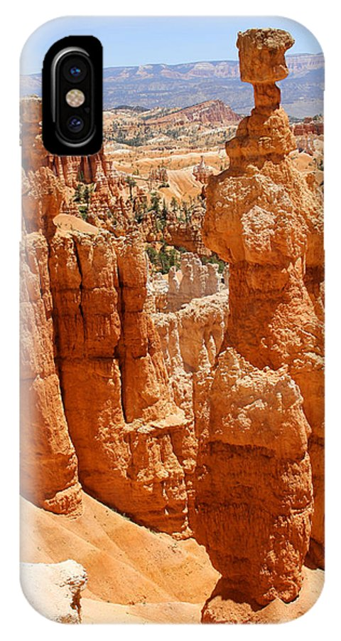 Desert IPhone X Case featuring the photograph Bryce Canyon 2 by Mike McGlothlen