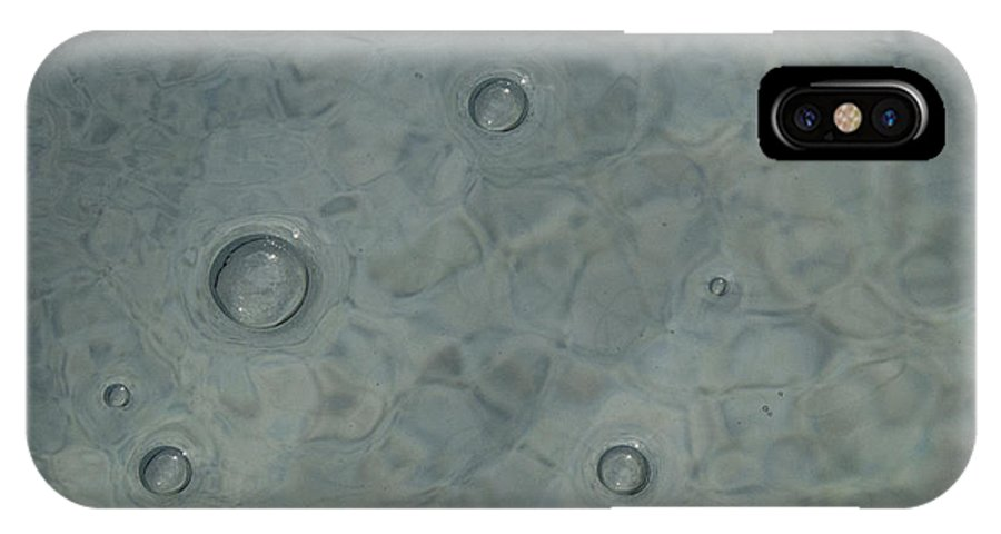 Bubbles IPhone X Case featuring the photograph Bubble Trouble #1 by Bucko Productions Photography