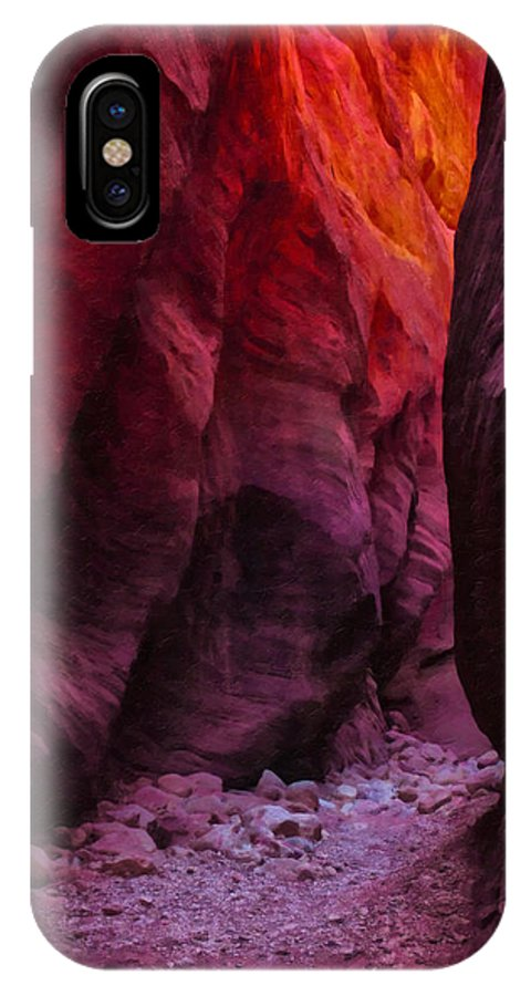 Beautyinnature IPhone X Case featuring the photograph Buckskin Gulch 13 by Ingrid Smith-Johnsen