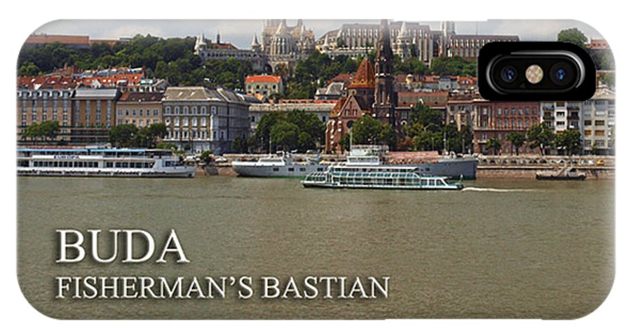 Danube River IPhone X Case featuring the photograph Budapest by Howard Stapleton