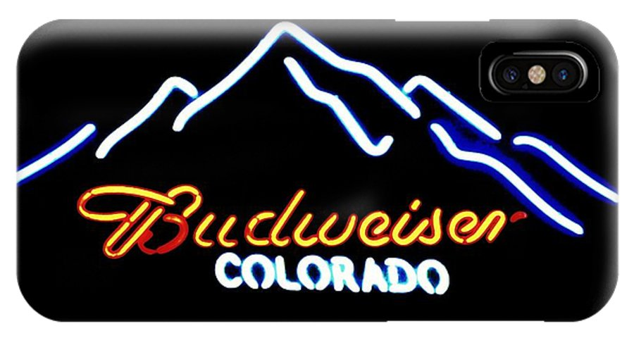 IPhone X Case featuring the photograph Budweiser In Colorado by Kelly Awad