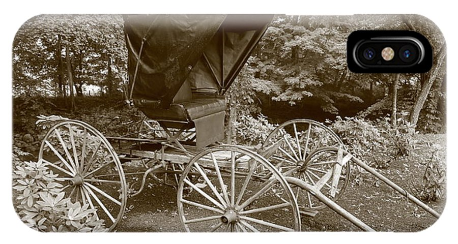 Buggy IPhone X Case featuring the photograph Buggy Sepia by Dwight Cook