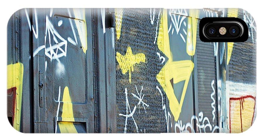 Bulgarian Graffiti IPhone X / XS Case featuring the photograph Bulgarian Graffiti by Tony Murtagh