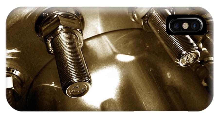Jamie Lynn Gabrich IPhone X Case featuring the photograph Bults by Jamie Lynn