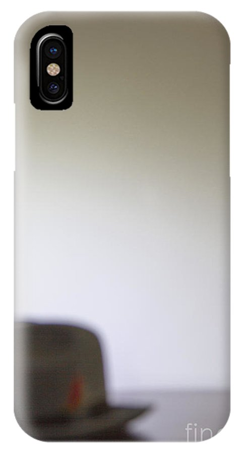 Man IPhone X Case featuring the photograph Business On Hold by Margie Hurwich