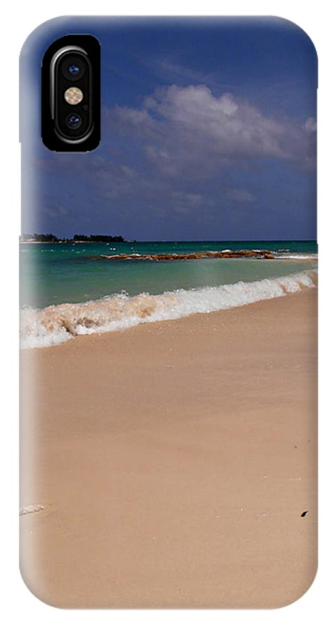 Beach IPhone X Case featuring the photograph Cable Beach Bahamas by Kimberly Perry