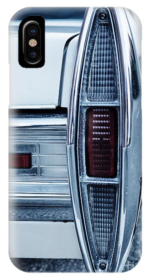 Sedan De Ville IPhone X Case featuring the photograph Cadillac by Brothers Beerens