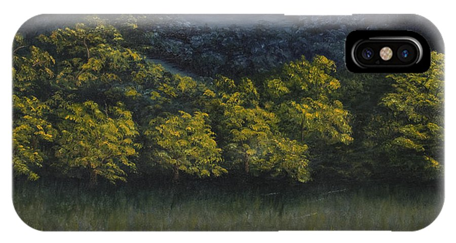 Landscape IPhone Case featuring the painting California Foothills by Darice Machel McGuire
