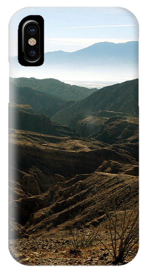 United States Of America IPhone X Case featuring the photograph California Painted Canyon3 by Leonid Rozenberg