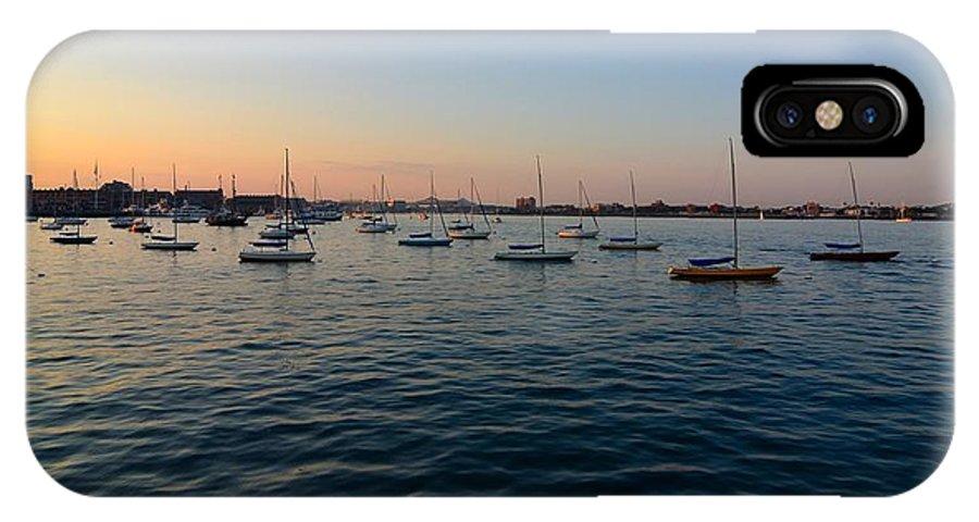 IPhone X Case featuring the photograph Calm Atlantic by Mithun Das