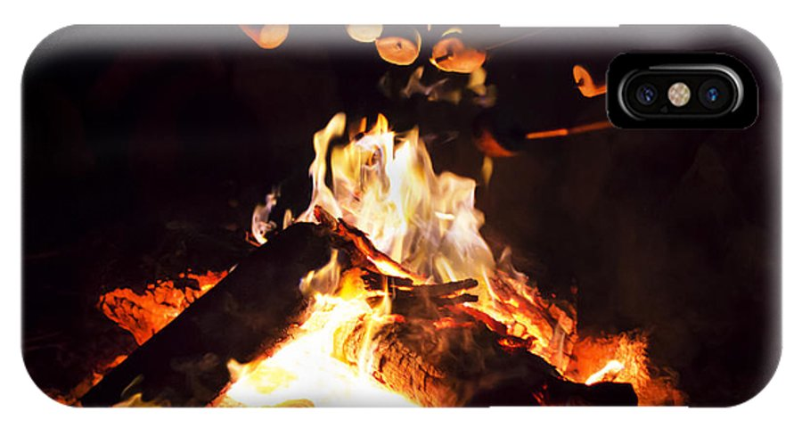 Nick IPhone X Case featuring the photograph Camping Treats by Nicholas Evans