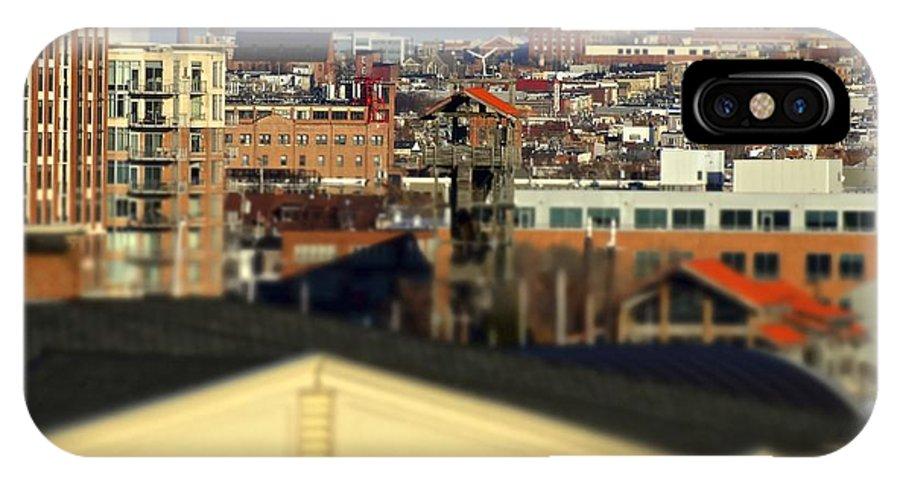 Landscape IPhone X Case featuring the photograph Canton Skyline by Jonathan Midgett