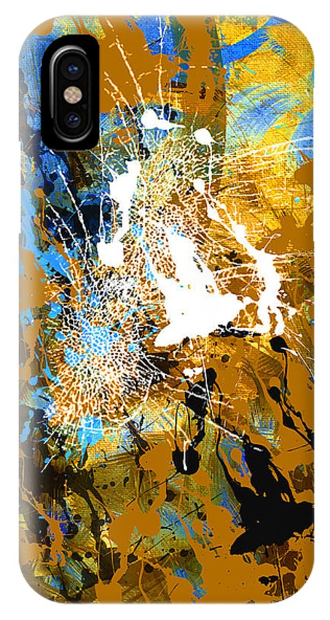 Fine Art IPhone X / XS Case featuring the digital art Canvas Dreams by Francine Collier
