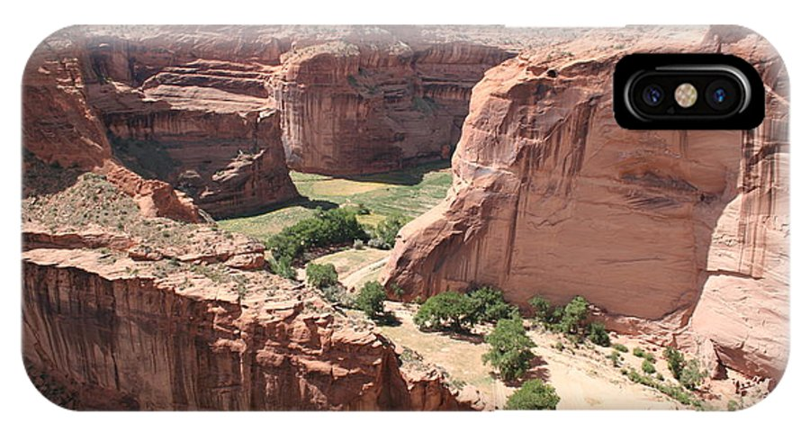 Canyon IPhone X Case featuring the photograph Canyon De Chelly Arizona by Christiane Schulze Art And Photography