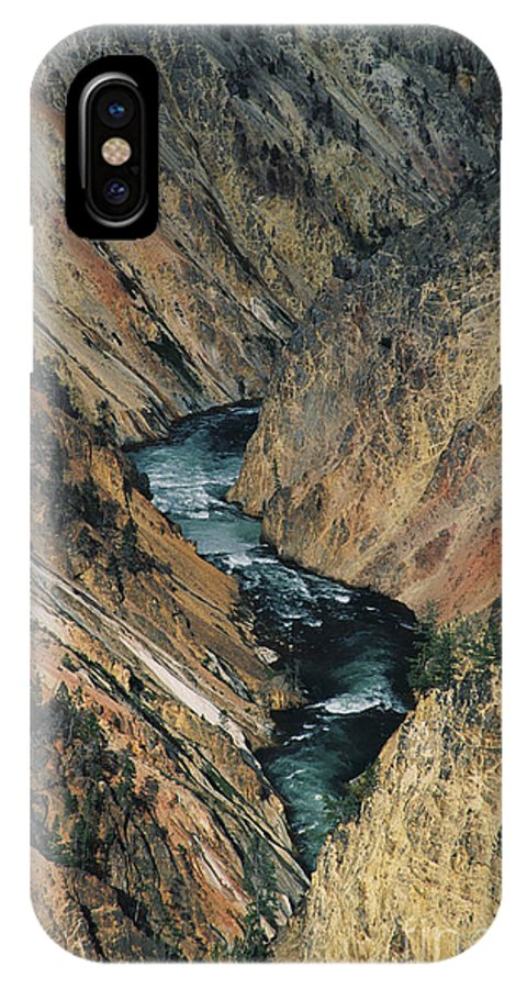 Yellowstone IPhone Case featuring the photograph Canyon Jewel by Kathy McClure