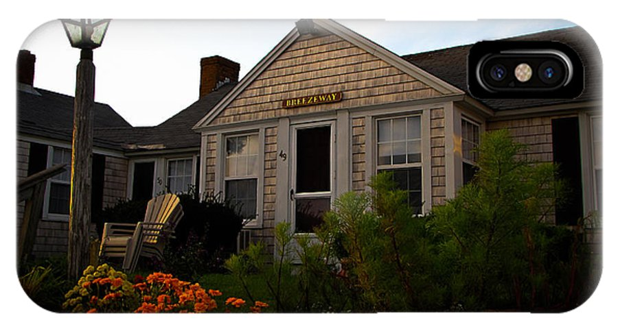 Cape Cod IPhone X Case featuring the photograph Cape Cod Bungalow by Charlene Gauld