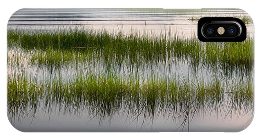 Marsh IPhone X Case featuring the photograph Cape Cod Marsh by Bill Wakeley