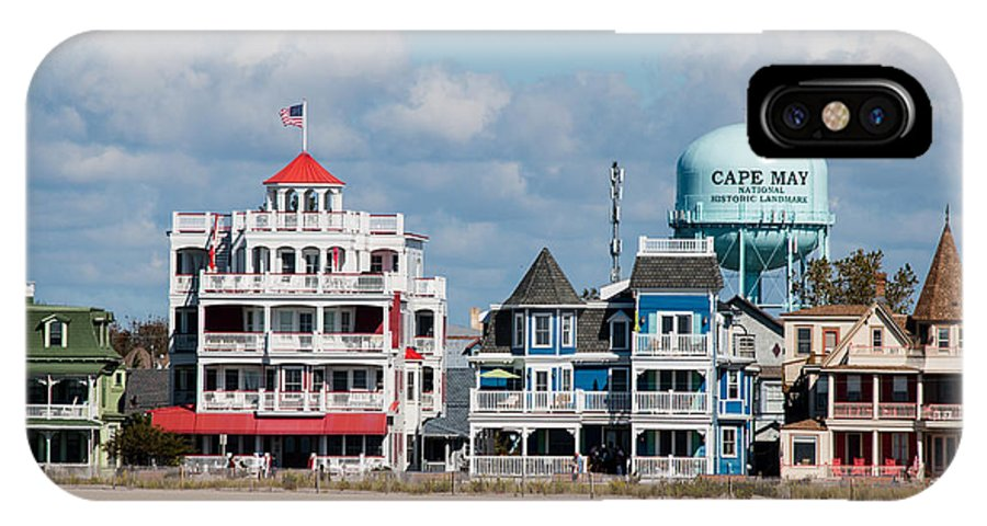 Cape May IPhone X Case featuring the photograph Cape May by Gaurav Singh