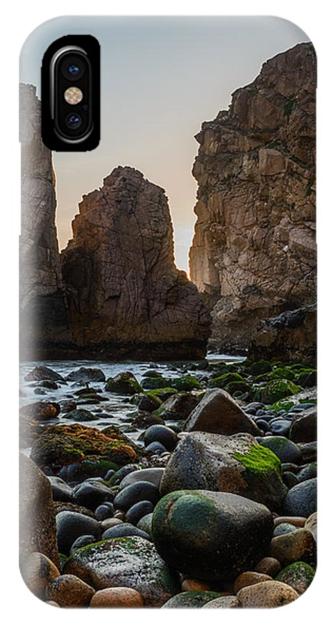 Promontory IPhone X Case featuring the photograph Cape Roca I by Marco Oliveira