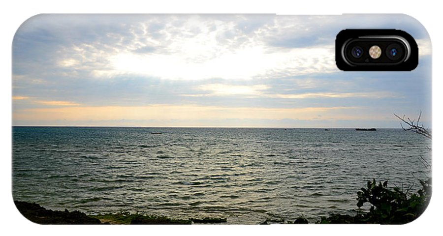 Sunset IPhone X / XS Case featuring the photograph Cape Zampa Sunset by Jamie Blocker