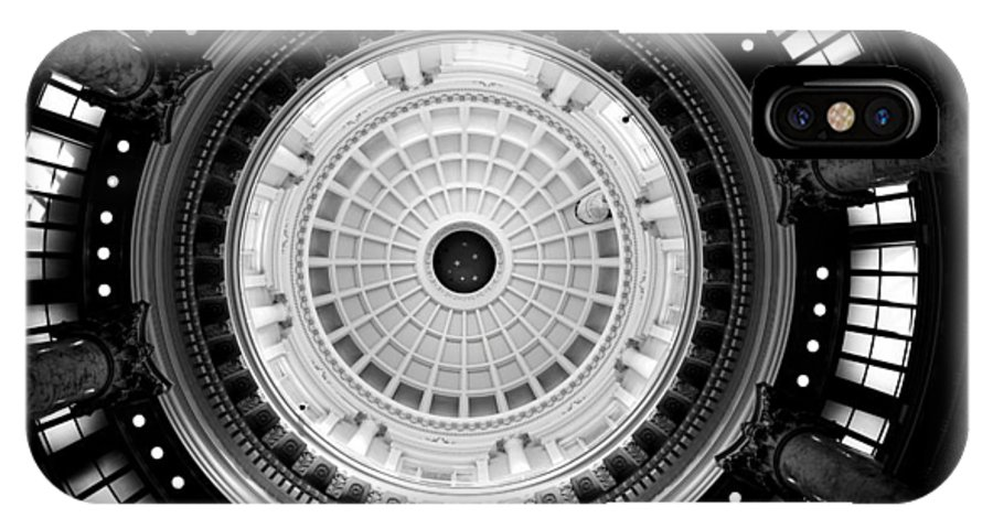 Capitol Dome IPhone X Case featuring the photograph Capitol Dome by Greg Bush
