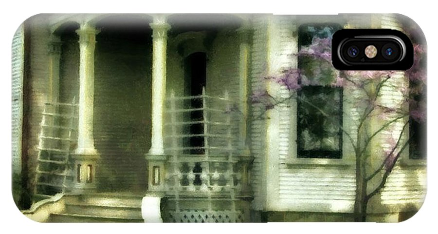 Cappon House IPhone X Case featuring the photograph Cappon House by Michelle Calkins