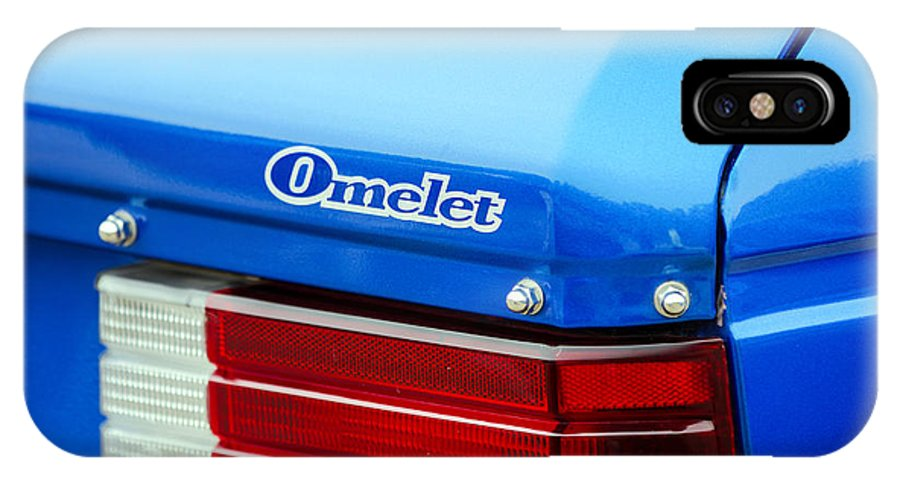 Dodge Omni IPhone X / XS Case featuring the photograph Car Show 035 by Josh Bryant