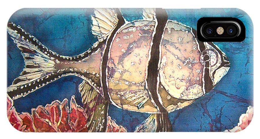 Cardinalfish IPhone Case featuring the painting Cardinalfish by Sue Duda