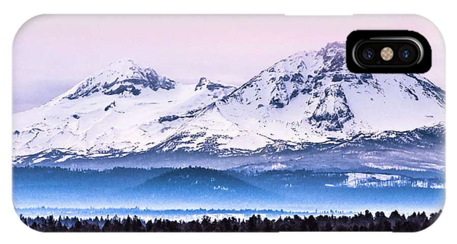 IPhone X Case featuring the photograph Cascades Central Oregon by Bryan Guest